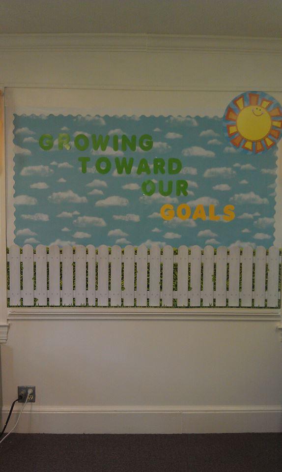 Growing Toward Our Goals