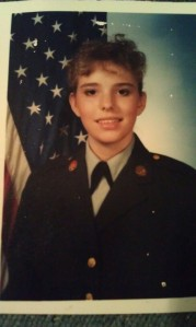 Basic Training, Ft. Dix, NJ, 1989